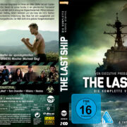 The Last Ship – Staffel 4 (2017) R2 German Custom Blu-Ray Cover