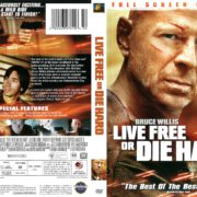 Live Free or Die Hard (2007) R1 DVD Cover