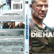 Live Free or Die Hard–Unrated (2007) R1 DVD Cover