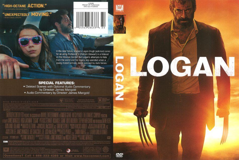 Logan 2017 R1 Dvd Cover Dvdcover Com