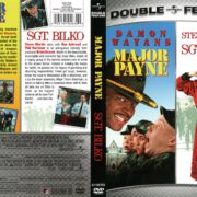 Major Payne/Sgt. Bilko Double Feature (1995-1996) R1 DVD Cover