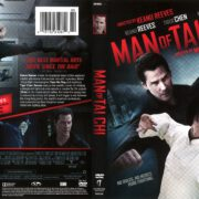 Man of Tai Chi (2013) R1 DVD Cover