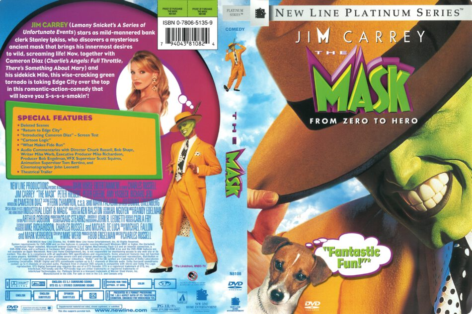 The Mask 1994 R1 Dvd Cover Dvdcover Com