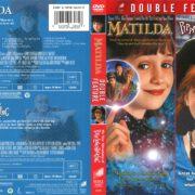 Matilda/Pippi Longstocking Double Feature (1996-1988) R1 Custom Cover
