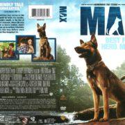 Max (2015) R1 DVD Cover