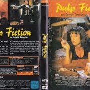 Pulp Fiction (1994) R2 German DVD Cover & Label