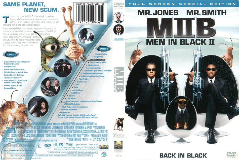 Men In Black 2 2002 R1 Dvd Cover Dvdcover Com