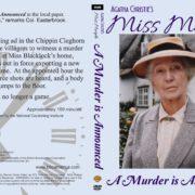 Miss Marple: A Murder is Announced (1985) R1 Custom DVD Cover