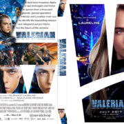 Valerian and the City of a Thousand Planets (2017) R0 Custom DVD Covers
