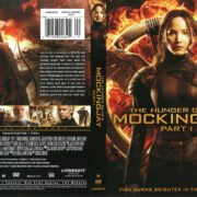 The Hunger Games: Mockingjay Part 1 (2014) R1 DVD Cover