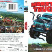 Monster Trucks (2016) R1 DVD Cover