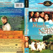 Much Ado About Nothing (1993) R1 DVD Cover