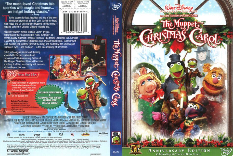 The Muppet Christmas Carol (2005) R1 DVD Cover - DVDcover Com