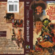 Muppet Treasure Island (1996) R1 DVD Cover