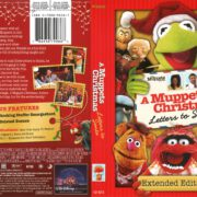 A Muppets Christmas: Letters to Santa (2009) R1 DVD Cover