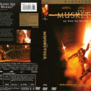 The Musketeer (2001) R1 DVD Cover