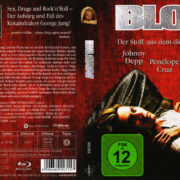 Blow (2009) R2 German Blu-Ray Covers & Label