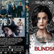 Blindspot: Season 2 (2016) R1 Custom DVD Covers