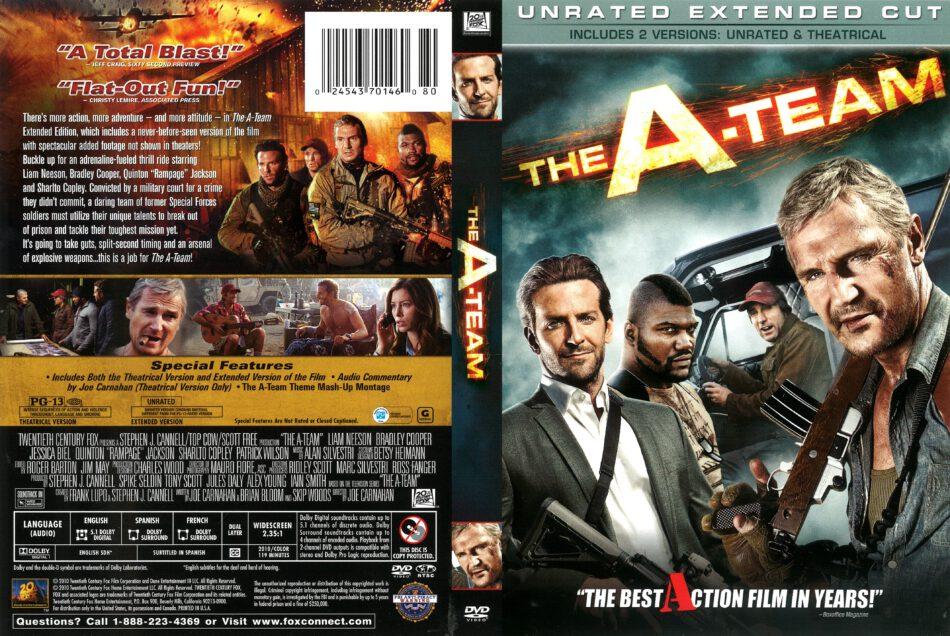 The A Team 2010 R1 Dvd Cover Dvdcover Com