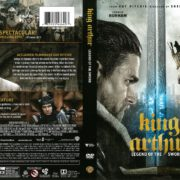 King Arthur: Legend of the Sword (2017) R1 DVD Cover