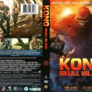 Kong: Skull Island (Includes French Version) (2017) R1 DVD Cover