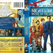 Night at the Museum: Battle of the Smithsonian (2009) R1 DVD Cover