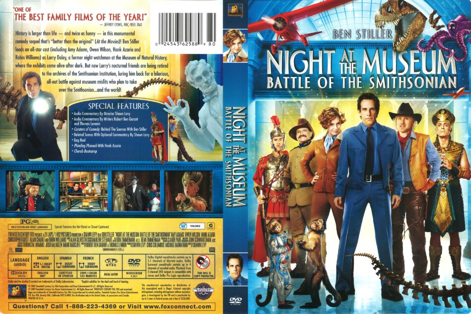 Night at the Museum: Battle of the Smithsonian (2009) R1 ...