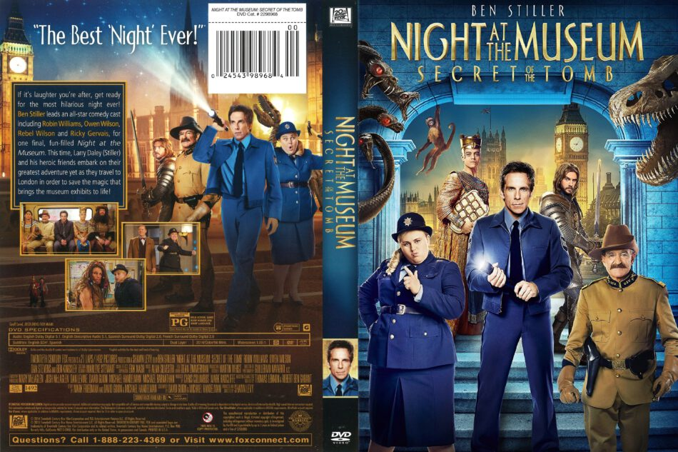Night at the Museum: Secret of the Tomb (2014) R1 DVD ...