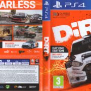 DiRT 4 (2017) PAL PS4 Cover & Label