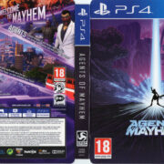 Agents of Mayhem (2017) PAL PS4 Cover & Label