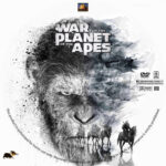 War for the Planet of the Apes (2017) R1 Custom label