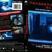 Paranormal Activity (2009) R1 DVD Cover