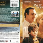 Pay It Forward (2000) R1 DVD Cover