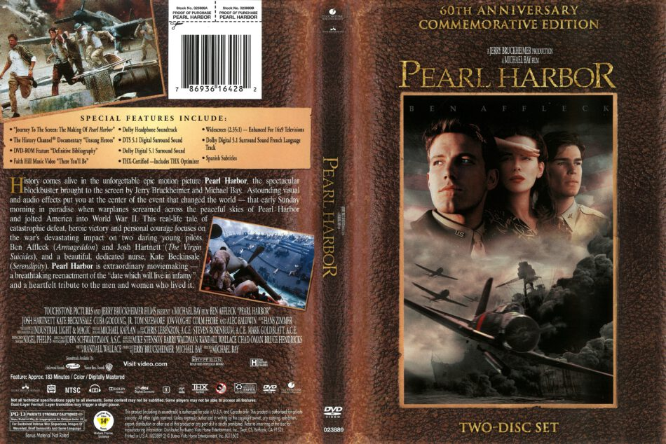 Pearl Harbor 2001 R1 Dvd Cover Dvdcover Com