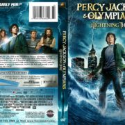 Percy Jackson and the Olympians: The Lightning Thief (2010) R1 DVD Cover