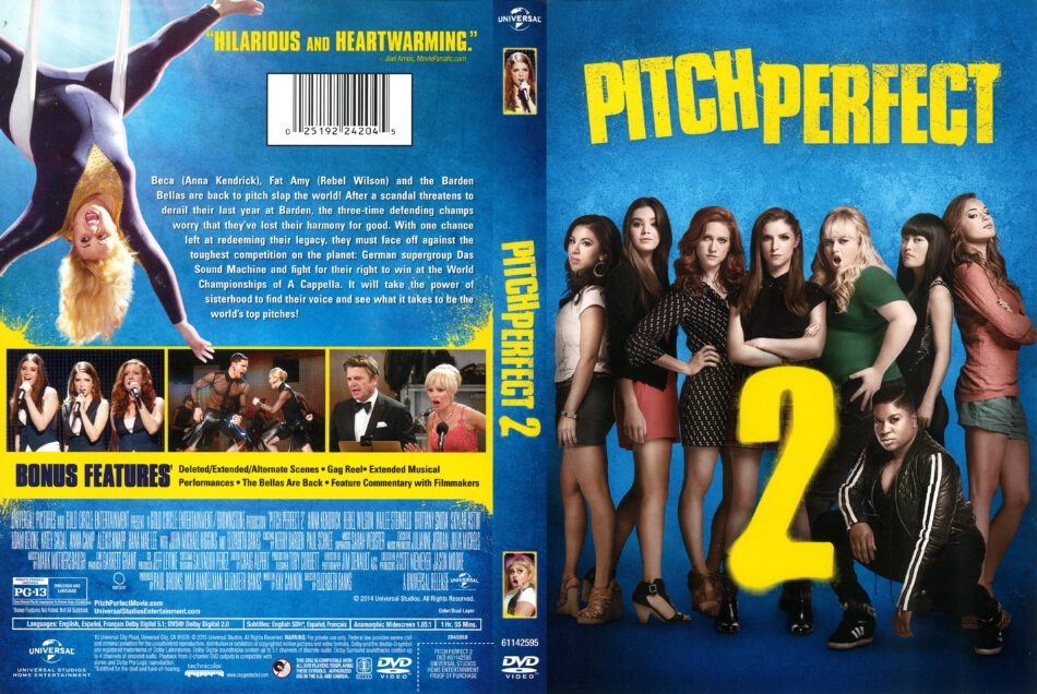 Pitch Perfect 2 2015 R1 Dvd Cover Dvdcover Com