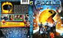 Pixels (2015) R1 DVD Covers