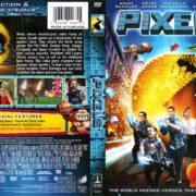 Pixels (2015) R1 DVD Covers