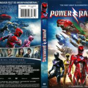 Power Rangers (2017) R1 DVD Cover