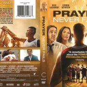 Prayer Never Fails (2017) R1 DVD Cover