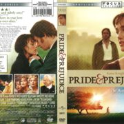 Pride and Prejudice (2006) R1 DVD Cover