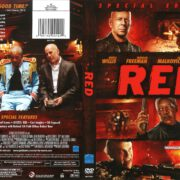 Red (2010) R1 DVD Cover