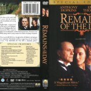 Remains of the Day (1993) R1 DVD Cover