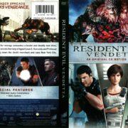 Resident Evil: Vendetta (2017) R1 DVD Cover