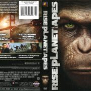 Rise of the Planet of the Apes (2011) R1 DVD Cover