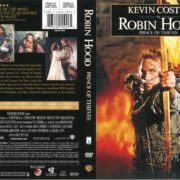 Robin Hood Prince of Thieves (1991) R1 DVD Cover