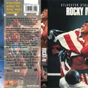 Rocky IV (1985) R1 DVD Cover
