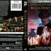Rules Don't Apply (2016) R1 DVD Cover