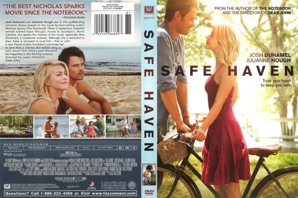 Safe Haven (2013) R1 DVD Cover - DVDcover.Com