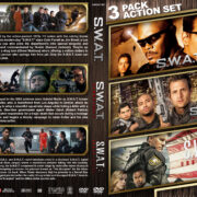 S.W.A.T. Triple Feature (2003-2017) R1 Custom Cover